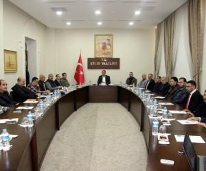 Vali Tekinarslan, Suriye Geçici Hükümeti meclis üyeleri ile bir araya geldi