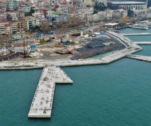 (Özel Haber) Martı Projesi'ndeki son durum havadan görüntülendi