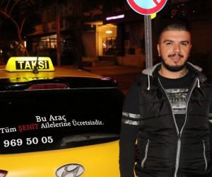 Taksiciden, şehit annesinden 2,5 lira isteyen otobüs şoförüne anlamlı tepki