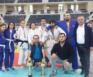 Türkiye Judo Şampiyonası'nda zafer Nilüfer'in