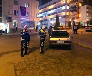 Yozgat'ta abartı ekzoz, sis farı ve alkol denetimi yapıldı