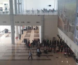 Ağrı Ahmed-i Hani Havalimanı'nda 28 bin 330 yolcuya hizmet verildi