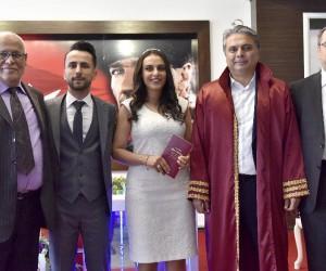 Başkan Uysal, Sevgililer Günü'nde nikah kıydı