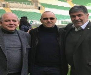 Kosova Futbol Federasyonu Bursaspor Stadı'nı ziyaret etti