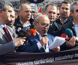 """Memur-Sen Ankara Başkanı Kır: """"ABD'nin DEAŞ'la mücadelesine şahit olan var mı?"""""""