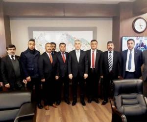 Kemal Kazak'tan emniyet müdürüne ziyaret