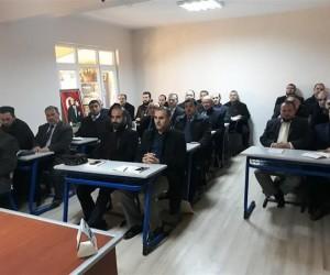 Müftü İpek, Ergene'deki din görevlileriyle bir araya geldi