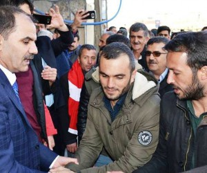 AK Parti Erciş İlçe Başkanlığına yeniden Adnan Aydın atandı