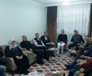 Başkan Biçer'den Afrin gazisinin ailesine ziyaret