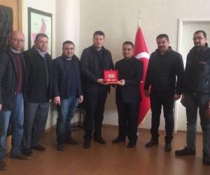 Başkan Ergün'den Kaymakam Halim'e ziyaret