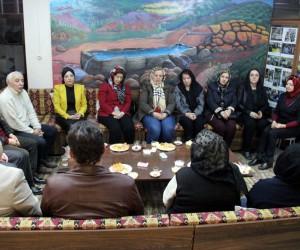 Kütahya'da sanatçı duyarlılığı, Afrin şehitleri için Kur'an-ı Kerim okuyup dua ettiler
