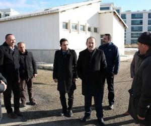 Vali Ali Hamza Pehlivan, DSİ yatırımlarını değerlendirdi