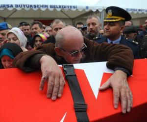 Şehit Binbaşı ebediyete uğurlanıyor