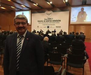 Başkan Karabulut, Tekstil ve Deri Sektörü Toplantısı'na katıldı