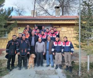 Kaybolan kadını AFAD ve Jandarma buldu