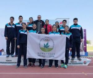 Osmangazili atletler olimpiyat barajını geçti