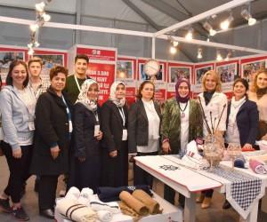 Tuzla Belediyesi Gönül Elleri Çarşısı, Boat Show'a Sosyal Sorumluluk Projesiyle Katıldı
