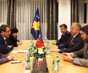 Dışişleri Bakan Yardımcısı Yıldız Kosova'da