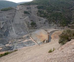 Gölecik Barajı inşaatı zemin problemi yüzünden durdu