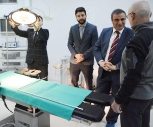 İl Sağlık Müdürü Taşçı Lapseki Devlet Hastanesini inceledi