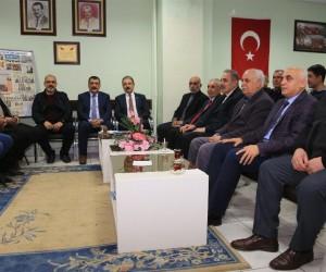 Başkan Gürkan esnaf odalarının temsilcileri ile bir araya geldi