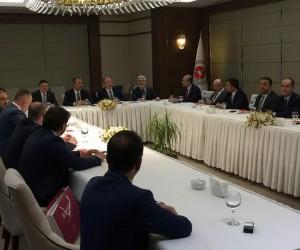 Baro Başkanı Av. Adem Aktürk, Adalet Bakanı Gül'ün konuğu oldu