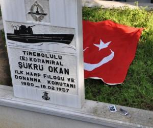 Türkiye Cumhuriyeti'nin ilk Donanma Komutanı Koramiral Şükrü Okan anıldı