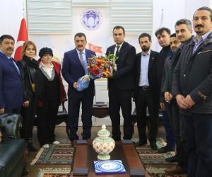 Başkan Gürkan'dan Toptaş'a övgü