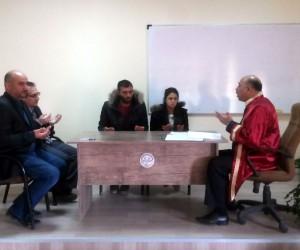 Akpınar İlçe Müftüsü Kırşehir'de ilk resmi nikahı kıydı