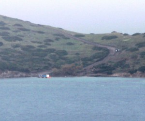 Çavuş Adası'nda çalışmalar devam ediyor