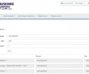 Yunusemre'de imar arşivi web sitesine eklendi
