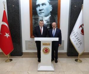 Yargıtay Başkanı Cirit'ten Vali Çakacak'a ziyaret