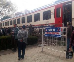 Manisa'da tren kazası: 1 ölü