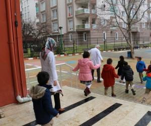 Çamlıca Okullarında yangın ve deprem tatbikatı