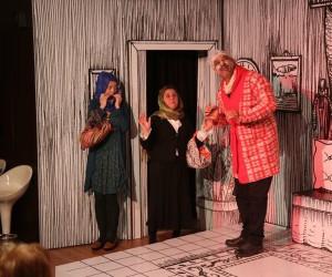 Mezitli Oda Tiyatrosu, 'Rumuz Goncagül'ü sahneledi