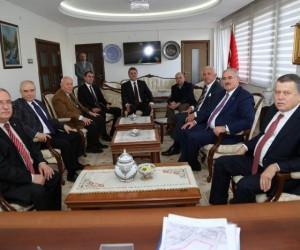 Yargıtay Başkanı Cirit ile Yargıtay Cumhuriyet Başsavcısı Akarca Vali Nayir'i ziyaret etti