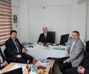 Milletvekili Tunç'tan İHA'ya ziyaret