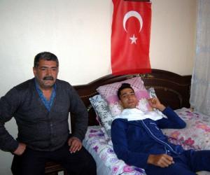 Afrin gazisi Serhat Solmaz: