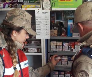 Tokat Jandarma Komutanlığından 'Duman Uygulaması'