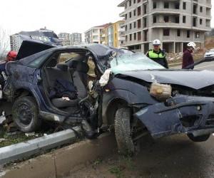 İş çıkışı evine giderken kazada hayatını kaybetti