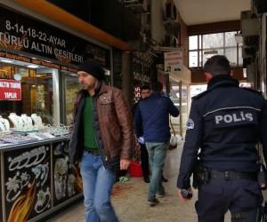 Düzce'de silahlı kuyumcu soygunu girişimi