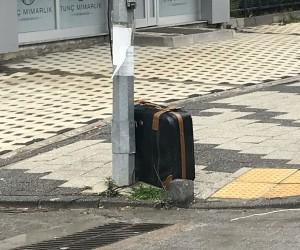 Sultanbeyli'de şüpheli valiz paniği