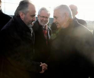 Başbakan Yıldırım'dan Alinur Aktaş'a ziyaret