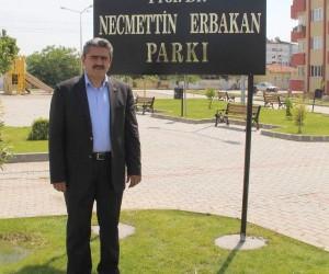 Başkan Alıcık, Necmettin Erbakan'ı ölümünün 7'nci yılında andı