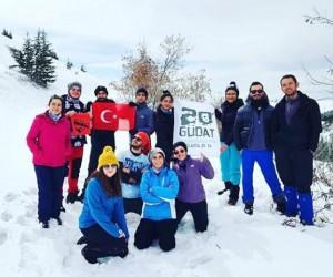 GÜDAT Kış Temel Eğitim Kampını Tamamladı