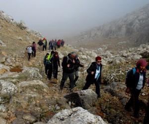 Akkoç'a doğa yürüyüşü
