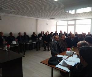 Türkiye Muhtarlar Derneği Daday Şubesine Kamil Selalmaz seçildi