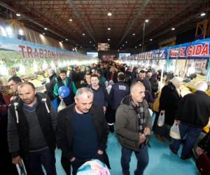 Trabzon Tanıtım Günleri'ne vatandaşlar akın etti