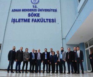 ADÜ Rektörü Prof. Dr. Cavit Bircan'dan Sökelilere teşekkür