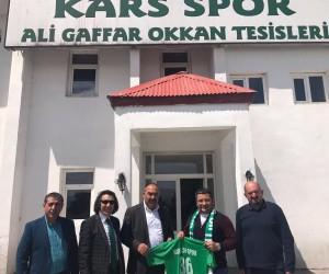 Ümit Kalko'dan Kars 36 Spor'a destek